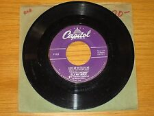 "JAZZ / R&B 45 RPM - ELLA MAE MORSE - CAPITOL 1922 - ""LOVE ME OR LEAVE ME"""