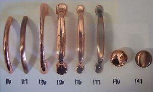Drawer Handle Pulls and Knobs Cabinet Kitchen Bathroom Antique Copper Fine Brush