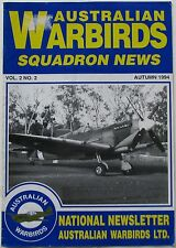 AUSTRALIAN WARBIRDS...SQUADRON NEWS...VOL.2 NO.2  AUTUMN 1994
