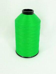 A&E Sewing Thread Neon Green 8 Oz Spool #69 Bonded Nylon T70 Fabric N360 USA