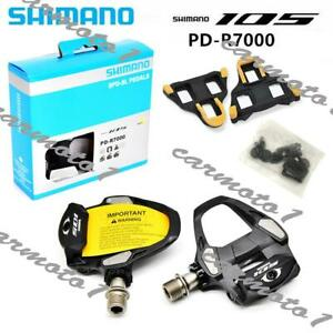 Shimano 105 PD-R7000 Carbon Fiber Road Bike Pedal with SM-SH11 Cleats CMT