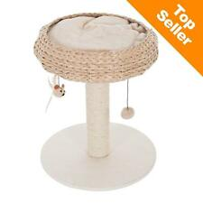 Lovely Cat BASKET Scratching Tree FURNITURE Sisal Covered Post Pet Toy Activity