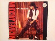 MICHAEL JACKSON - 1988 Vinyl 45rpm Single - LEAVE ME ALONE