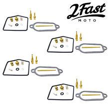 2FastMoto 4 Pack Carb Carburetor Repair Kit Honda CB350F CB350 CB 350 Four
