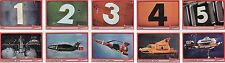 Thunderbirds TV Series Rare 10 Card Promo Set TBP1 - TBP10