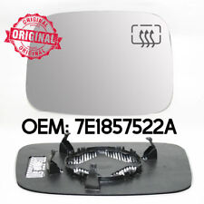 Right Wing Mirror Heated Glass Base For VW Volkswagen Caddy 04-10