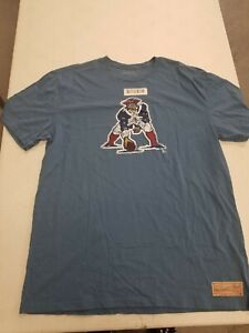 New England Patriots Mitchell Ness T-shirt XL In NEW WITH TAGS