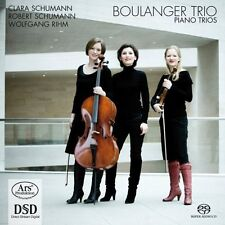 Boulanger Trio - Piano Trios [New SACD] Hybrid SACD