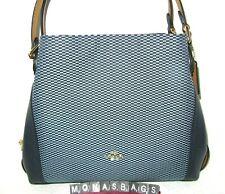 Coach 28895 Legacy Jacquard Edie 31 Shoulder Bag Purse Midnight Navy Blue