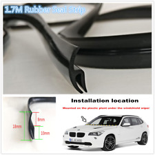 1.7M Rubber Seal Strip Car Front Window Door Windshield Anti-aging Weatherstrip