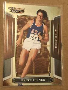 """2008 DONRUSS LEGENDS BRUCE """"CAITLYN"""" JENNER CARD #23 OLYMPIC DECATHLON Card"""