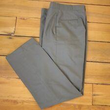 Vintage US Military OD Green Wool Serge Class 6 Dress Pants Trousers 30 x  32