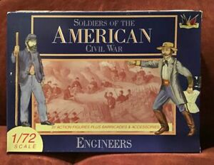 1990's New MIB Vintage CE Soldiers of the American Civil War Engineers