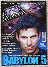 TV ZONE MAGAZINE 95 - X-FILES - STAR TREK VOYAGER - DOCTOR WHO