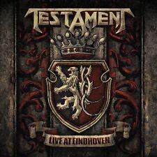 TESTAMENT - LIVE AT EINDHOVEN   VINYL LP NEW!