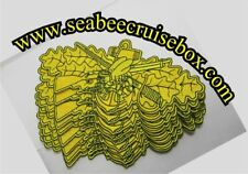 Yellow / gold color Seabee Combat Warfare Patch