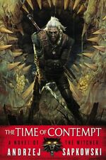 NEW The Time of Contempt by Andrzej Sapkowski