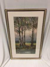 Original Gouache Painting by Wim Kortland (Australian 1923-) Titled Yarra Valley