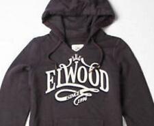 **NWT**ELWOOD**charcoal hooded jumper~ladies XS  RRP$99.99