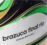 NEW ADIDAS BRAZIL WORLD CUP BRAZUCA FINAL OFFICIAL MATCH BALL 2014 Size 5 G84000