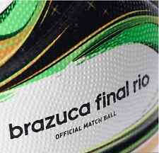 NEW ADIDAS BRAZIL WORLD CUP BRAZUCA FINAL OFFICIAL MATCH BALL 2014 Size 5 G84000