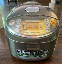 Zojirushi NP-NVC10 5-Cups Electric Rice Cooker with Warmer induction pressure