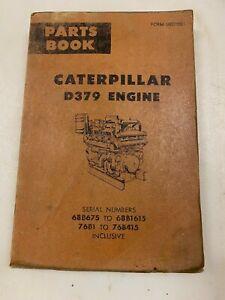 Caterpillar D379 engine parts manual. Genuine Cat book.
