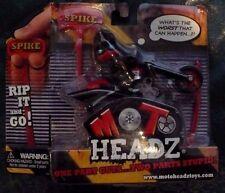 2009 MOTO HEADZ SPIKE TOY RIP CORD BIKE MOTORCYCLE AND ROADIE NEW ON CARD