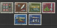 Bundespost ALLEMAGNE 1965 exposition des transports 6 timbres oblitérés /T3326