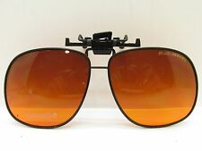 BLUBLOCKER AMBER SUNGLASS CLIP ON 60mm 72074