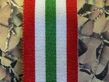 Full Size Medal Ribbon - Italy Star