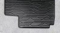 KIA PICANTO RUBBER MAT SET GENUINE FITS NEW 2011 MODEL ONWARDS 1Y131ADE10