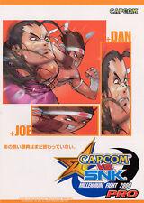 2000 CAPCOM VS. SNK MILLENIUM FIGHT 2000 PRO JP VIDEO FLYER