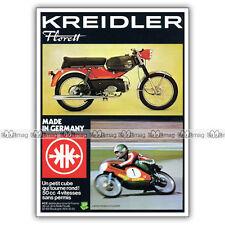PUB KREIDLER FLORETT 50 RS avec JAN DE VRIES Ad / Publicité Cyclo-Sport de 1975