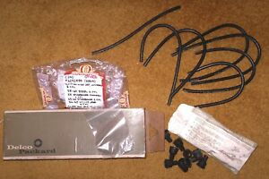 1958-66 Studebaker/Edsel/Willys Delco Ignition Wire Set NOS 486-A 6292484 4Q-69