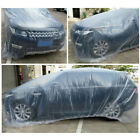 5 Pack Clear Plastic Disposable Car Cover Temporary Universal Rain Dust Garage