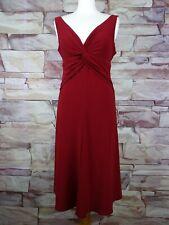 JONES NEW YORK red stretch dress size 12