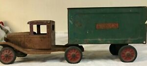Buddy L Express Truck And Trailer 1934 # 35