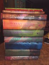 Lot of 10 HARRY POTTER Hardcovers #1-7 Beedle Bard J K Rowling lot LOTFOL