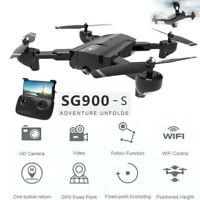 SG900-S Folding RC Drone 2.4G 1080P HD Camera WiFI FPV GPS Quadcopter Air