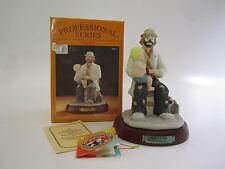 Emmett Kelly Jr Doctor Clown Figurine Professional Series #9587 W/ Box