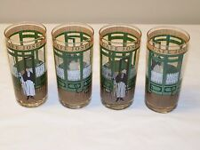 CAFE JOSEF Tumblers Highball Barware - Lot of 4 - Please Read
