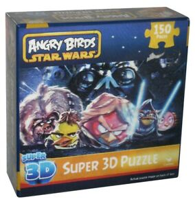 Star Wars Angry Birds 150pc Cardinal Super 3D Puzzle