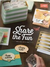 Retired Stampin' Up! Annual Catalog 2015-2016 - Idea/Inspiration Book