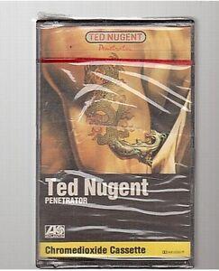 TED NUGGENT cassette K7 tape PENETRATOR france / germany 78-0125-4 neuf new neu