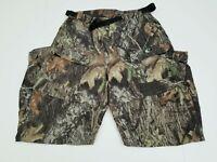 Mossy Oak Break-up Country Camo Men's Cargo Zip-Off Legs Multi-Pockets Pants L