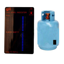 Propane Butane LPG Fuel Gas Tank Level Indicator Magnetic Gauge Caravan Bottles