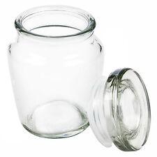 Piccolo SIGILLO ERMETICO Storage JAM JAR preservare CONTENITORE clipseal condimenti POT
