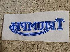 Vintage T-Shirt Transfer Triumph Logo