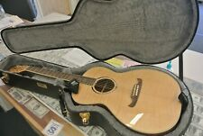 Fender Fa-235E Natural Finish Concert Size Acoustic Electric Guitar